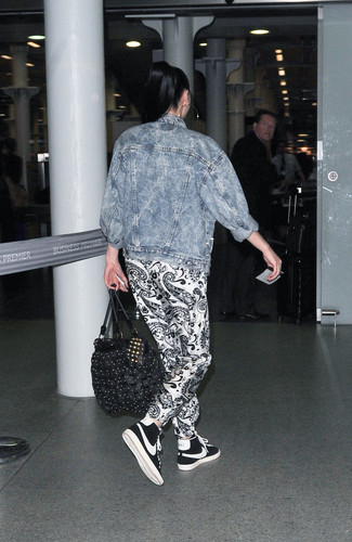 Arriving At St Pancras International To Catch The Euro Star [29 June 2012] - jessie-j Photo