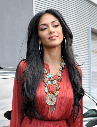Nicole Scherzinger Hintergrund titled Arriving At The X Factor Boot Camp In Liverpool [20 July 2012]