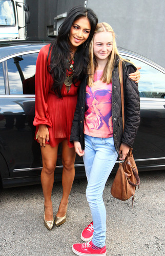 Arriving At The X Factor Boot Camp In Liverpool [20 July 2012]