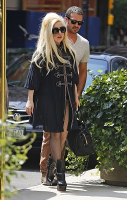 Arriving at Joanne Restaurant in New York City (July 22nd)