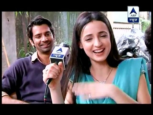 Arushi on set of IPKND with an interview - iss-pyar-ko-kya-naam-doon Photo