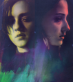 Arya & Sansa - house-stark fan art