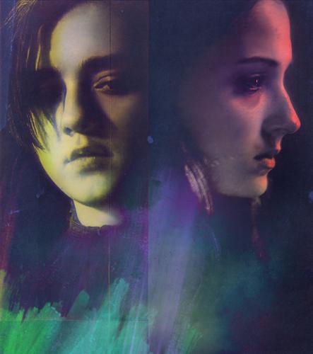 House Stark 바탕화면 called Arya & Sansa
