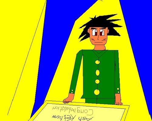 Ash Ketchum/Ketchamu Satoshi graduating Neo jr high in This is the Inazuma X team ! part 1