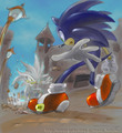 Attack!! - silver-the-hedgehog photo