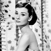 Audrey Hepburn photo probably containing skin and a portrait titled Audrey