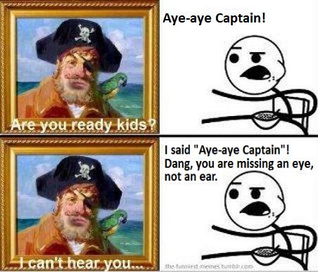 Aye-aye Captain