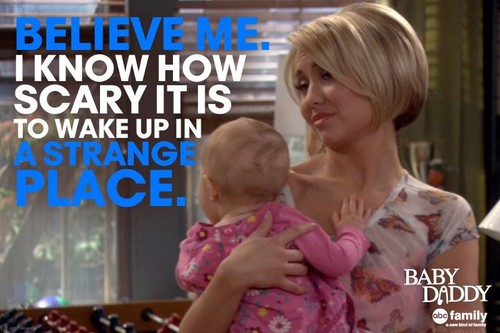 Baby Daddy Quote - Riley