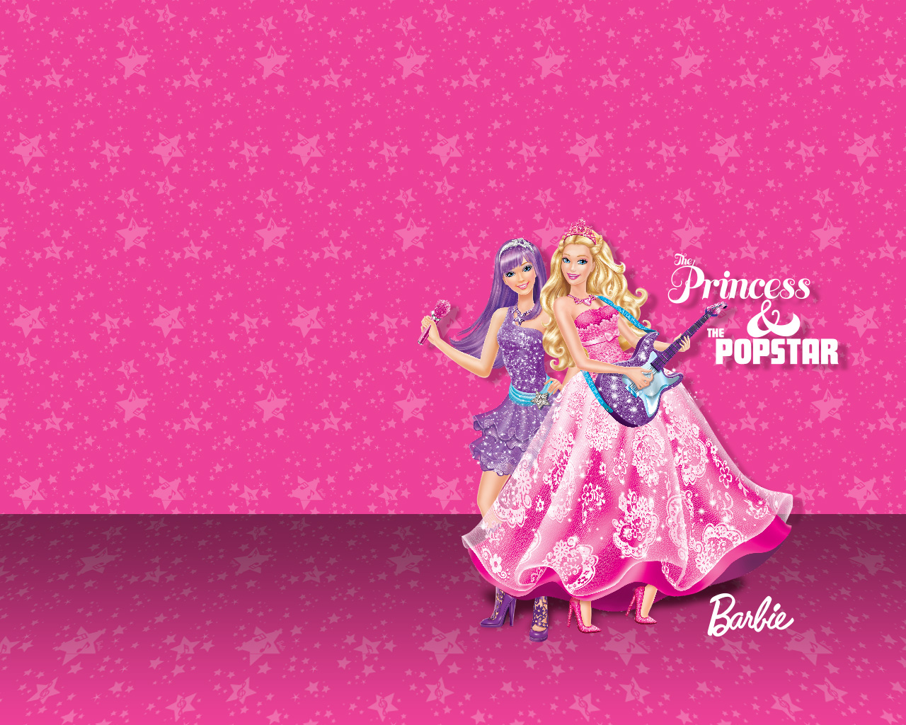 Barbie Princess & The Pop Star - Barbie Princess Movies Wallpaper ...