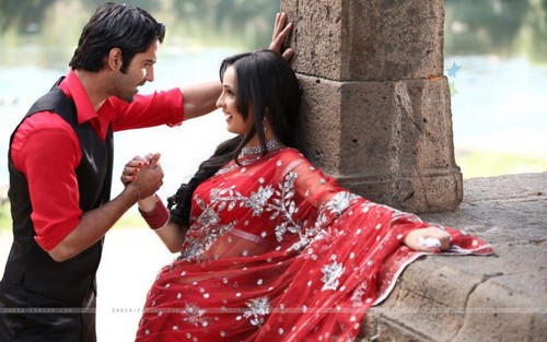 iss pyaar no kya naam doon fond d'écran possibly with a kimono entitled Barun and Sanaya