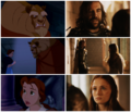 Beauty and the Beast & SanSan | Parallels - sandor-and-sansa fan art