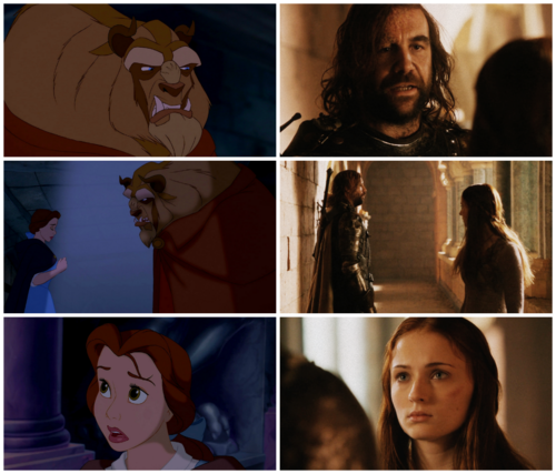 Beauty and the Beast & SanSan | Parallels