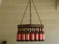 Beer Bottle Chandelier - beer photo