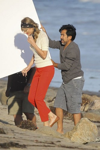 Behind the scene - Malibu photoshoot