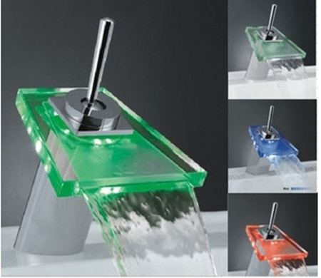 -Single-Handle-Mount-LED-Glass-Waterfall-Bathroom-Sink-Faucet-faucets ...