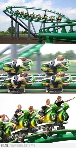 Bike rollercoaster