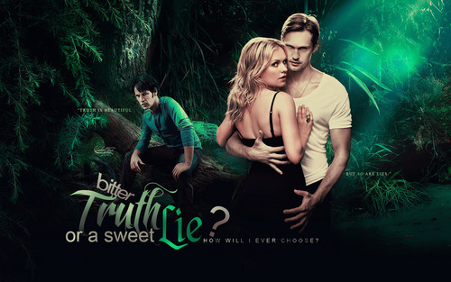 True Blood wallpaper possibly with a concert and a sign entitled Bittersweet