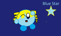 Blue star - kirby fan art