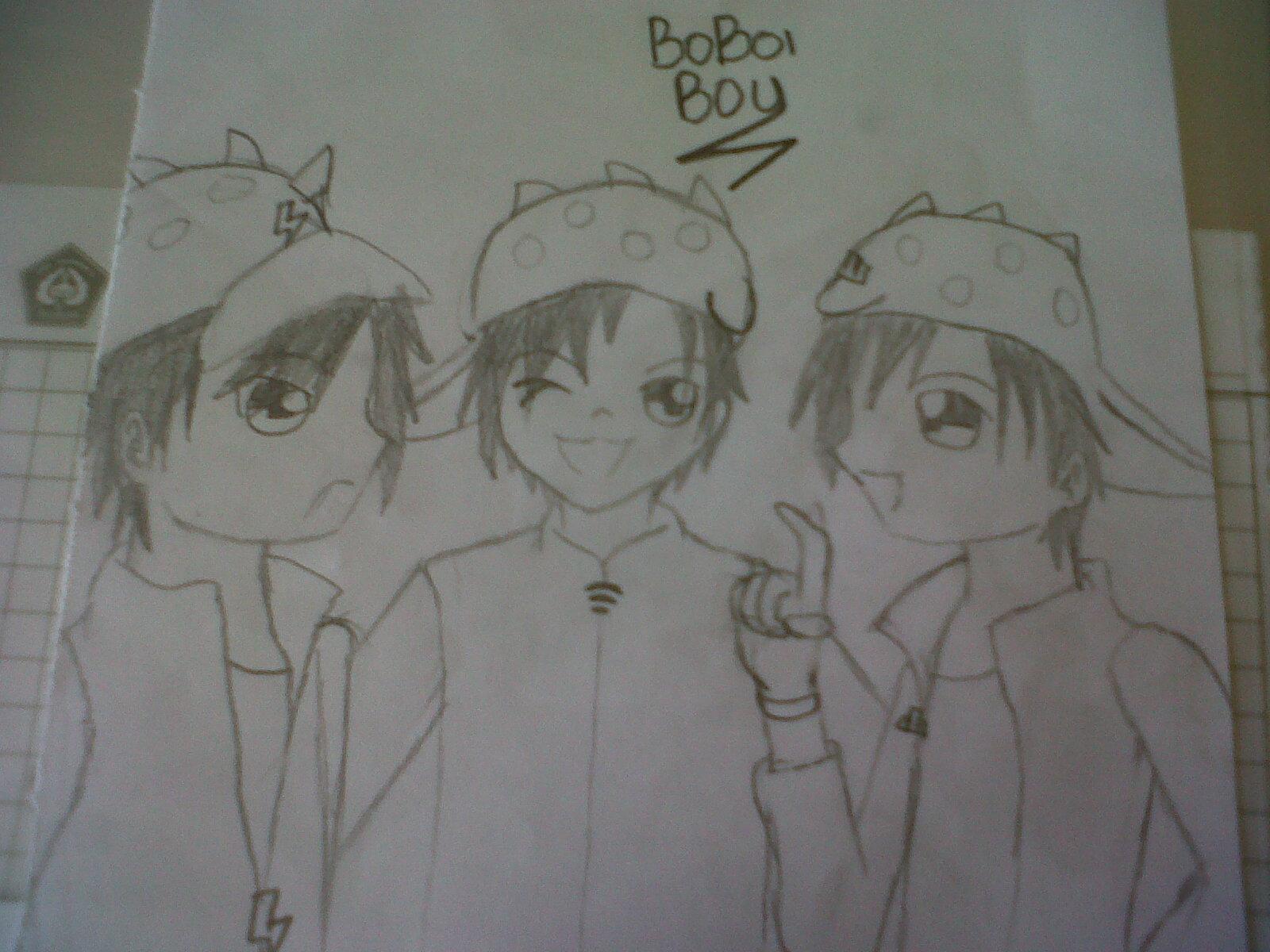 BoBoiBoy Fanart sejak me