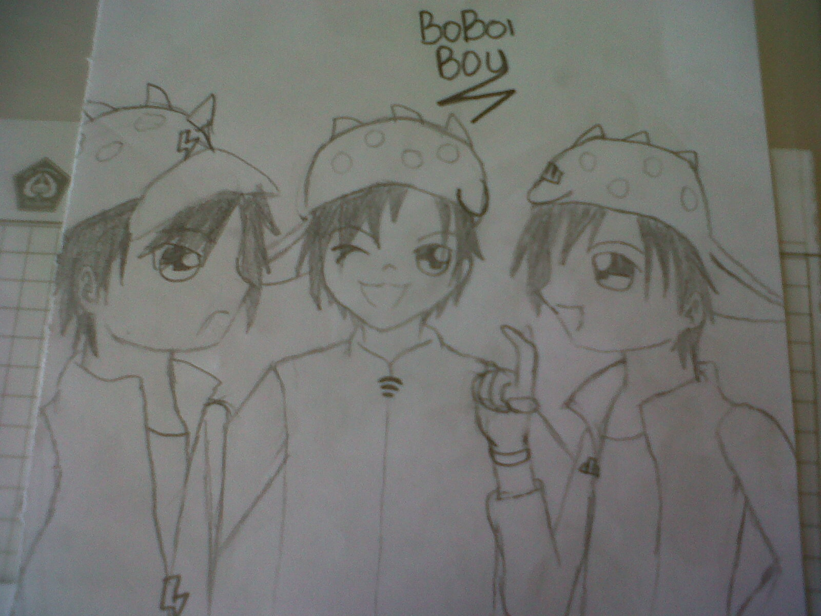 Boboiboy BoBoiBoy Fanart by me