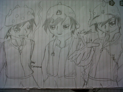 Boboiboy achtergrond probably with a sign called BoBoiBoy season 2 Fanart door me