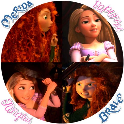 Frozen vs Tangled vs Brave images Frozen Tangled Brave
