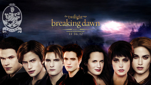 Breaking dawn part 2 - Cullen family