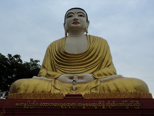 Buddhist image in Myanmar