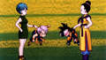 Bulma,Chichi with Trunks, Goten - dragon-ball-females photo