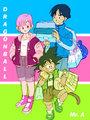 Bulma x Yamcha & Goku