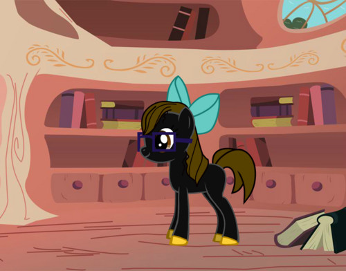 CC as pony!