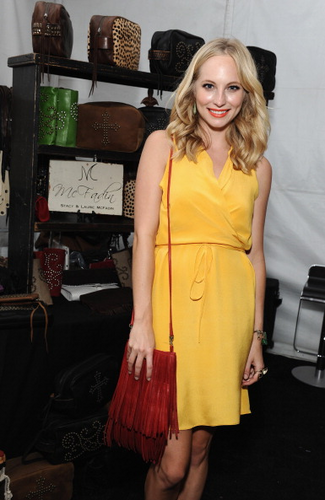 Candice attends dia 2 of Backstage Creations Celebrity Retreat at the TCAs {22/07/12}.