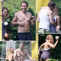 Celebrating 4th of July with her family & Ryan - blake-lively-and-ryan-reynolds photo