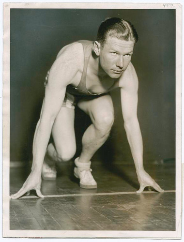 """Charles """"Charley"""" William Paddock (August 11, 1900 – July 21, 1943)"""