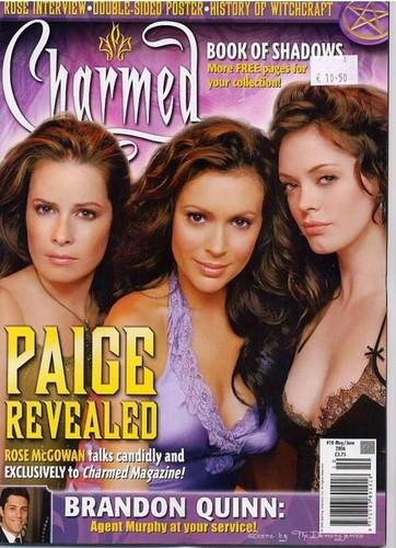 চার্মড্ magazine cover