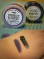 Concrete Minerals eyeshadows