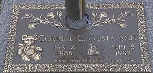 Corrine Gustavson (January 2, 1986-September 8, 1992