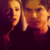 DE 20in20 icons - damon-and-elena Icon