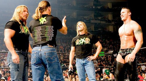DX, Orton and Edge