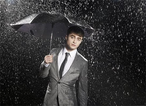 Daniel Radcliffe Heat Magazine Photoshoot