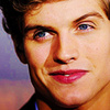 Daniel Sharman picha with a portrait called Daniel