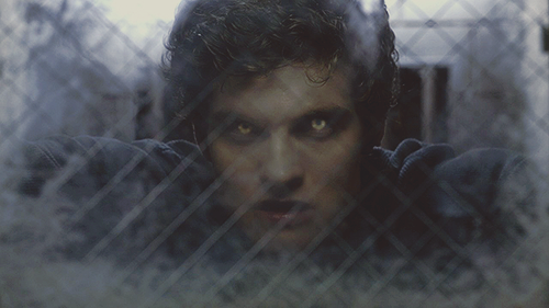 Daniel Sharman پیپر وال containing a chainlink fence titled Daniel <