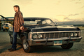 Dean Winchester with Chevrolet Impala 1967
