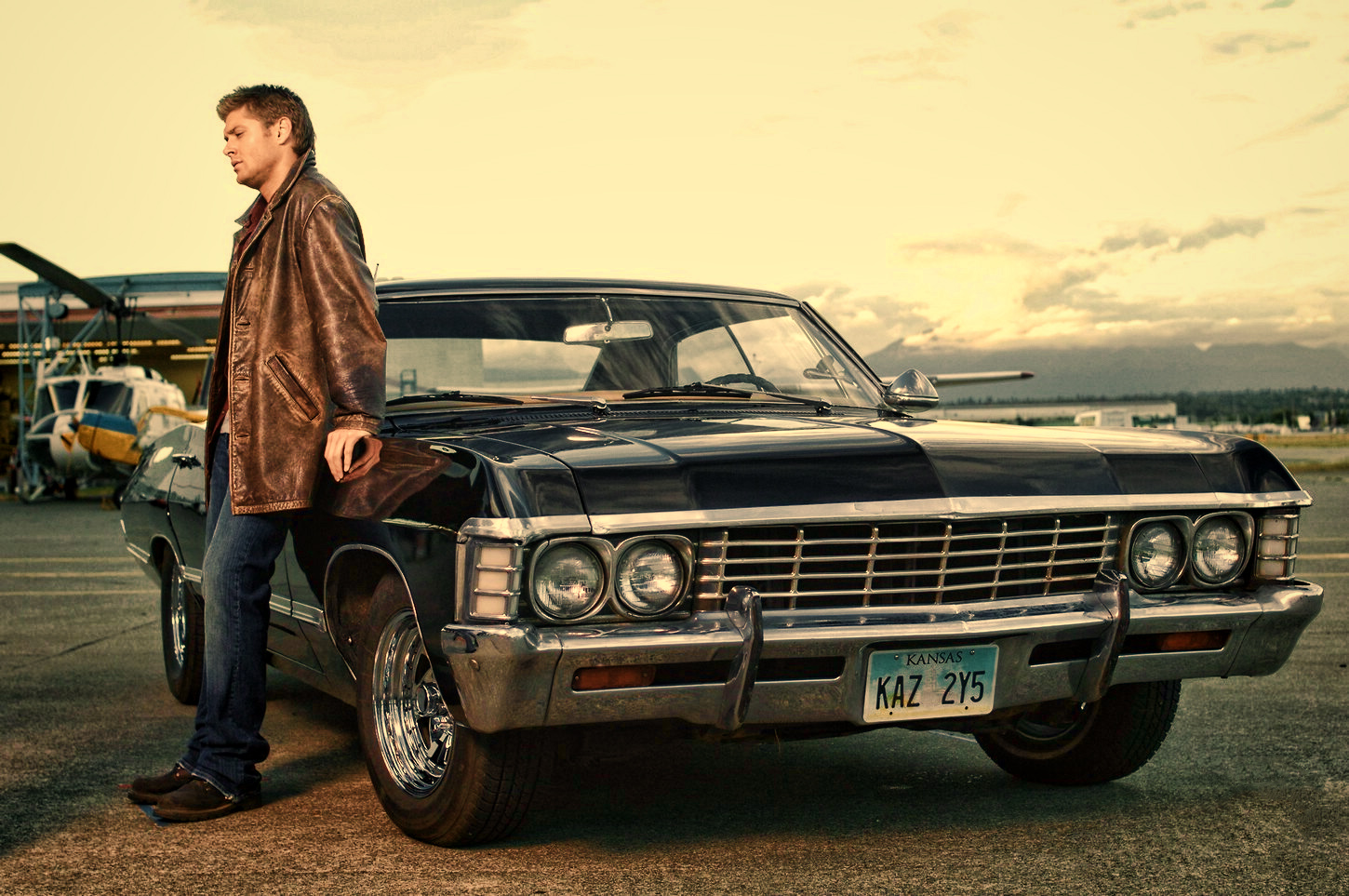 Supernatural Images Dean Winchester With Chevrolet Impala 1967 Hd