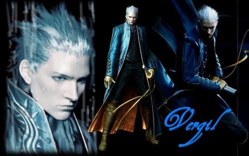 Demon in Blue
