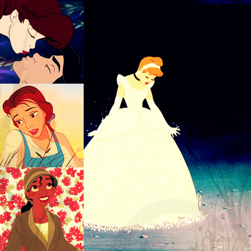 Disney Collage - classic-disney Fan Art