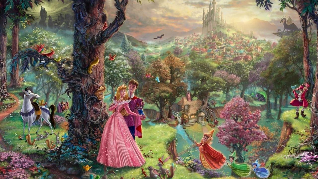 iceprincess7492 images Disney Dreams - Thomas Kinkade HD wallpaper and background photos