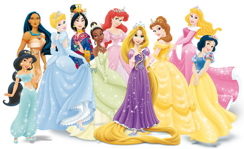ディズニー Princesses group