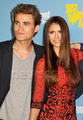 Dobsley @ Comic Con 2012 - paul-wesley-and-nina-dobrev photo