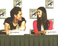 Dobsley - Comic Con Panel 2012 - paul-wesley-and-nina-dobrev photo